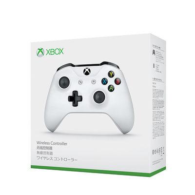 微软(Microsoft) Xbox 无线控制器 (蓝牙连接 带3.5mm的耳机接头 白色)