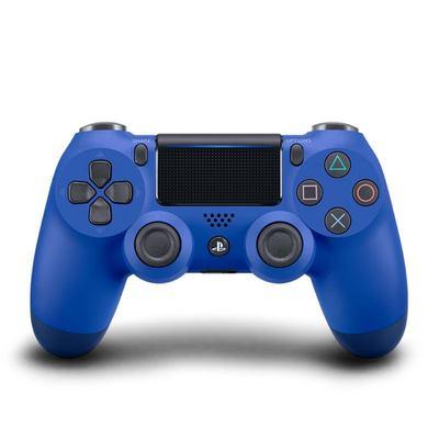 索尼(SONY)PlayStation4游戏手柄 新款PS4无线控制器(蓝色)