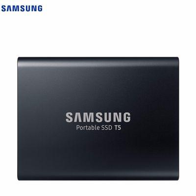 三星(SAMSUNG)移动固态硬盘SSD T5 2TB (MU-PA2T0B/CN)