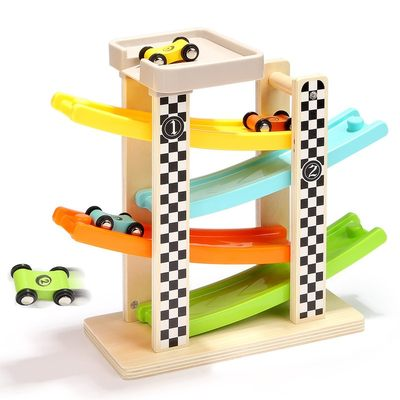 特宝儿一岁男宝宝益智滑翔轨道车玩具小汽车儿童玩具车男孩2-3岁