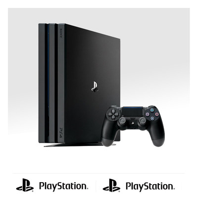 索尼 Sony PlayStation 4 PS4 Pro 国行游戏主机 HDR色彩 支持4K 1TB容量 黑色